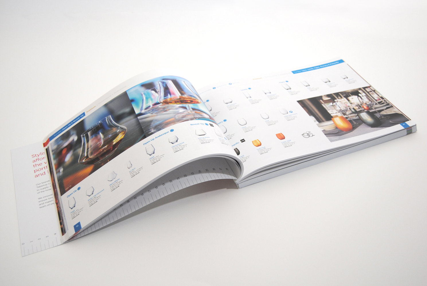 Arc Catalogue Design Double-Page-Spread
