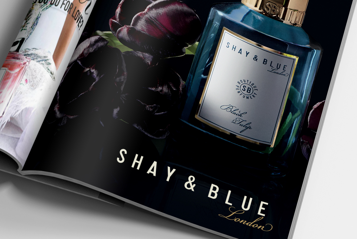 Shay & Blue Advertising Design